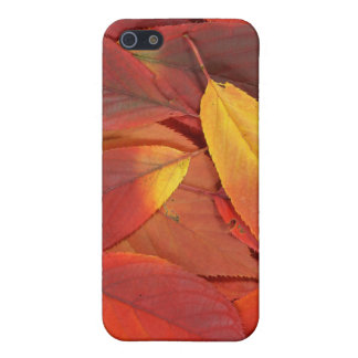 Iphoneの場合の赤い紅葉 iPhone 5 Case