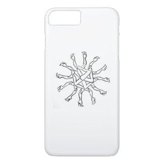 iPhoneの場合の足のモチーフ iPhone 8 Plus/7 Plusケース
