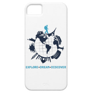iPhoneの場合を探検して下さい、夢を見て下さい、発見して下さい iPhone SE/5/5s ケース