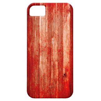 iPhoneの場合赤い血の木製のハロウィン iPhone 5 Cover