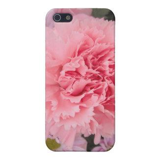 Iphoneの場合4/4のピンクのカーネーションの美しい iPhone 5 Case