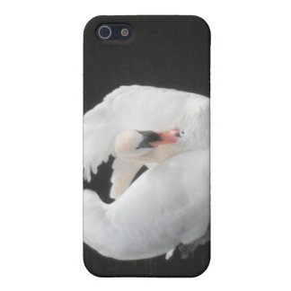Iphoneの場合4/4の白鳥の水泳 iPhone 5 Cover