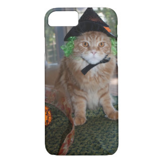 IPhoneの場合6/6sはメインのあらいぐまの魔法使い猫を細くします iPhone 8/7ケース