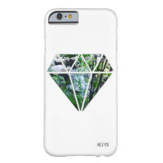 """iPhoneの場合6/6S """"ダイヤモンド""""白いHeevs™ Barely There iPhone 6 ケース"""