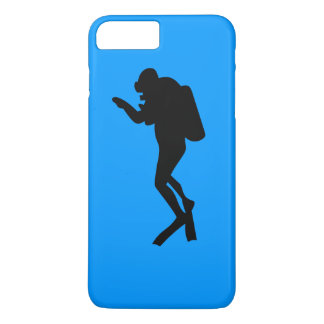 iPhoneの場合-スキューバダイバー iPhone 8 Plus/7 Plusケース