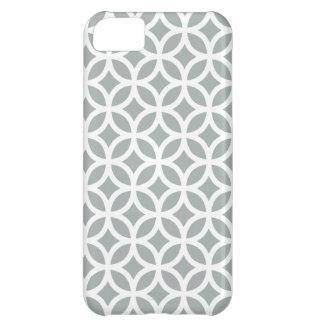 iPhoneの場合\パロマの灰色の幾何学的 iPhone5Cケース