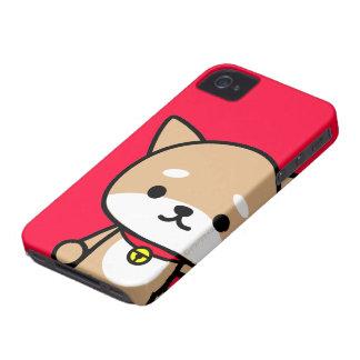 iPhoneの場合-子犬-赤 iPhone 4 ケース