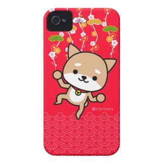 iPhoneの場合-子犬- JapaneseRed Case-Mate iPhone 4 ケース