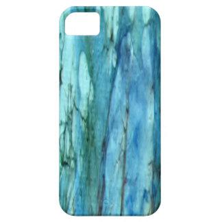 iphoneの場合--抽象デザインの水 iPhone SE/5/5s ケース