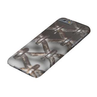 iPhoneの場合、格子鉄 iPhone 6 ベアリーゼアケース