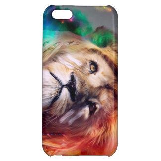 iPhoneの場合: 芸術のライオン iPhone5Cケース