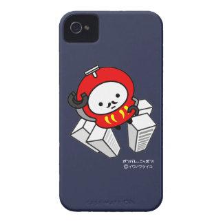 iPhoneの場合-行って下さい! Darumaのロボット!! iPhone 4 カバー