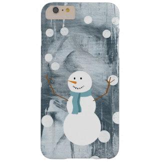 iPhoneの場合-踊りの雪だるま iPhone 6 Plus ベアリーゼアケース