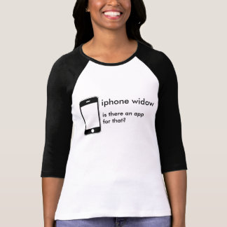 iphoneの寡婦 tシャツ