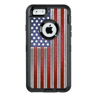iPhoneの米国旗の携帯電話の箱 オッターボックスディフェンダーiPhoneケース