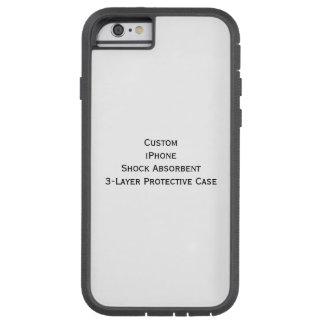 iPhoneの衝撃を吸収します3つの層の保護場合を作成して下さい Tough Xtreme iPhone 6 ケース