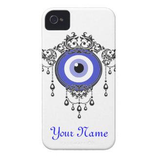 iPhoneの青い悪のまなざしの箱 Case-Mate iPhone 4 ケース