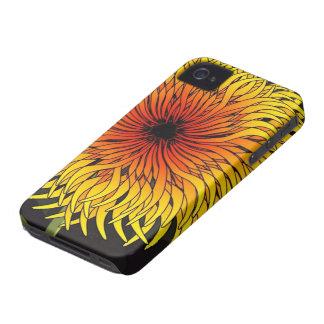 iPhoneの4/4S花柄の場合 Case-Mate iPhone 4 ケース