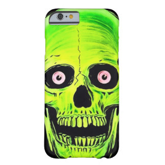 iPhoneのSkullyのスカルの恐怖幽霊のスカル Barely There iPhone 6 ケース