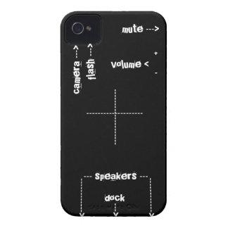 iPhoneは場合にボタンをかけます Case-Mate iPhone 4 ケース