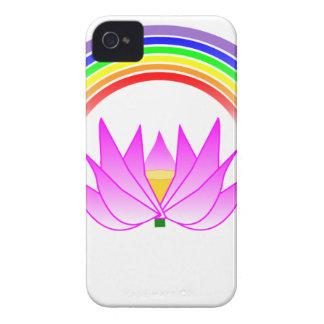 iphoneは4やっとそこにQPC虹及びはすを覆います Case-Mate iPhone 4 ケース