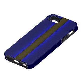 iPhoneは5警察ブルーラインを薄くします iPhone SE/5/5s ケース