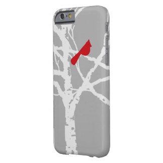 iPhoneカバー。  ツリーブランチの(鳥)ショウジョウコウカンチョウ Barely There iPhone 6 ケース