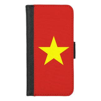 iPhoneベトナムの旗が付いている7/8のウォレットケース iPhone 8/7 ウォレットケース