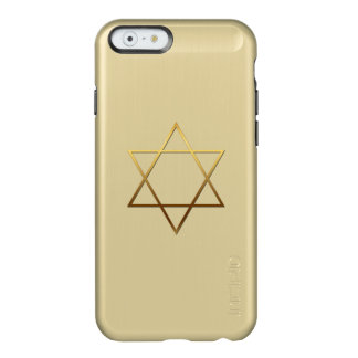 Iphone例3金ダビデの星 Incipio Feather Shine iPhone 6ケース