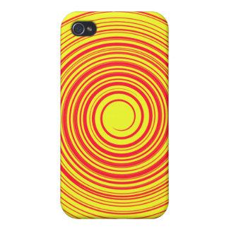 IPhone4黄色のねじれの場合 iPhone 4/4Sケース