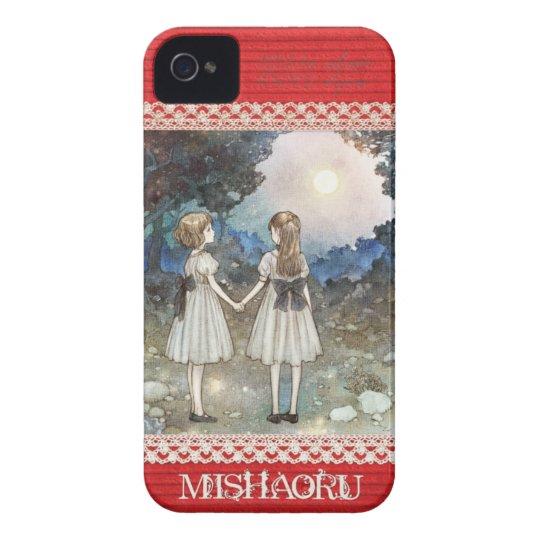 "iPhone4&4S case/MISHAORU ""SAYONARA NO MORI"" Case-Mate iPhone 4 ケース"