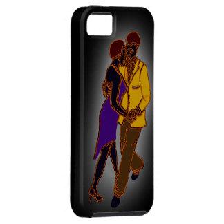 iphone5ファンキーなネオンカップル iPhone SE/5/5s ケース