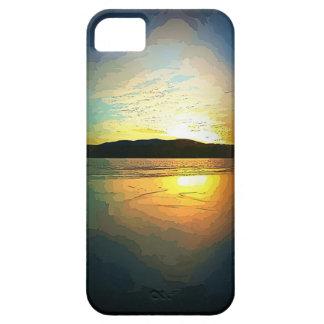 iPhone5/5sのimpressionist湖 iPhone SE/5/5s ケース