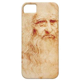 iPhone5 case Leonardo da Vinci 自画像 iPhone SE/5/5s ケース