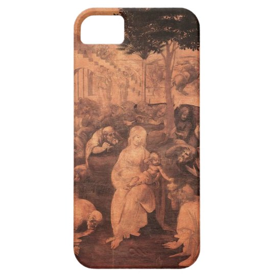 iPhone5 case Leonardo da Vinci Adorazione dei Magi iPhone SE/5/5s ケース