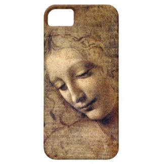 iPhone5 case Leonardo da Vinci La Scapigliata ほつれ髪 iPhone SE/5/5s ケース