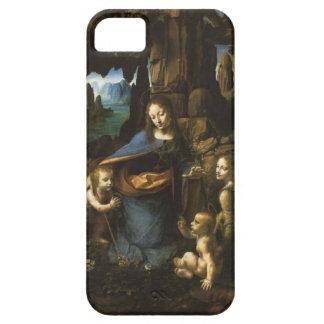 iPhone5 case Leonardo da Vinci Vergine delle Rocce iPhone SE/5/5s ケース