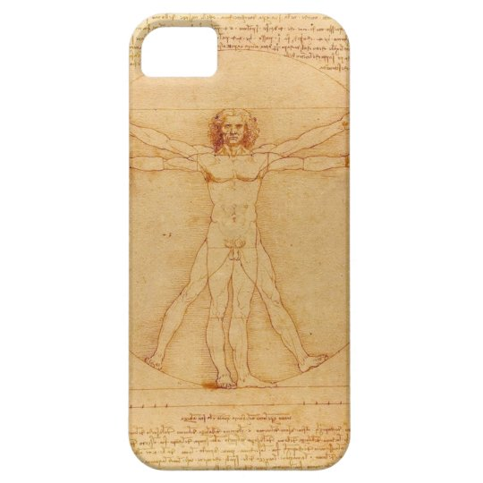 iPhone5 case Leonardo da Vinci Vitruvian Man 人体図 iPhone SE/5/5s ケース