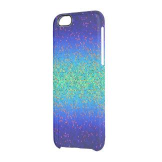 iPhone6ケースのグリッターのスターダスト クリアiPhone 6/6Sケース