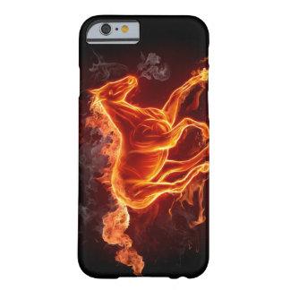 iPhone6ケースの火の馬の例カバー Barely There iPhone 6 ケース