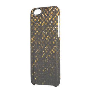iPhone6ケースの金ゴールド水晶きらきら光るなStrass クリアiPhone 6/6Sケース