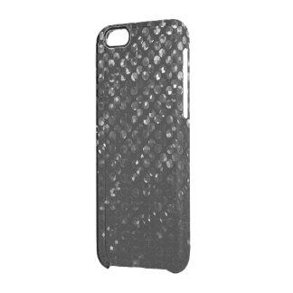iPhone6ケース黒い水晶きらきら光るなStrass クリアiPhone 6/6Sケース