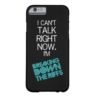 iPhone6ケース-私は今話すことができません Barely There iPhone 6 ケース