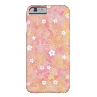 花柄模様のiPhone6/6sケース