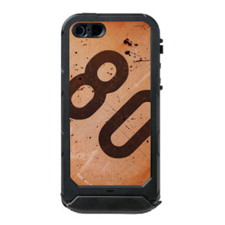 iPhone: ヴィンテージの鉄道80速度の列車の印 ウォータープルーフiPhone SE/5/5sケース