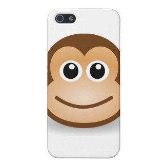 iPhone 4かわいい猿の例 iPhone SE/5/5sケース