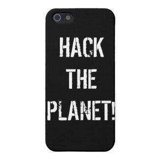 iPhone 4のための惑星を切り刻んで下さい iPhone 5 ケース