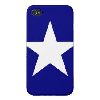 iPhone 4のための魅力的で青く堅い薬莢 iPhone 4/4Sケース