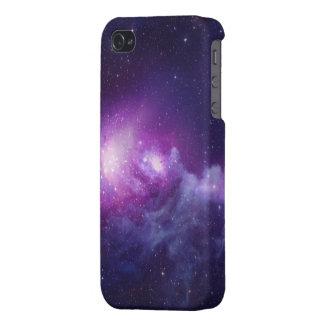 iPhone 4の無光沢の終わりの銀河系 iPhone 4/4Sケース