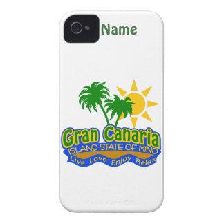 iPhone 4の穹窖Gran Canariaの精神状態 Case-Mate iPhone 4 ケース